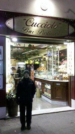 Bar Pasticceria Cucciolo: Comimos riquísimo !!!!!!!!