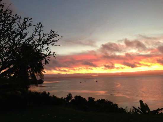 Taveuni Island Resort & Spa: Another Sunset. They are all so different