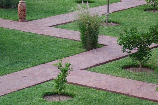 Les Jardins de Zyriab Resort & Spa : Jardin