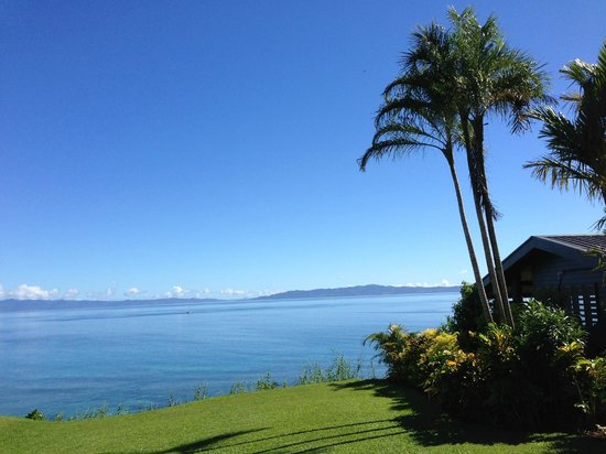 Taveuni Island Resort & Spa: View of ocean, better in the flesh though