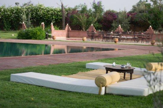 Les Jardins de Zyriab Resort & Spa: Vue piscine