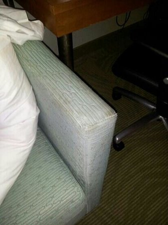 SpringHill Suites Hampton: couch #2
