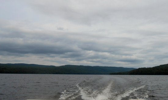 Maine Lakeside Cabins: Wyman Lake on the boat ride