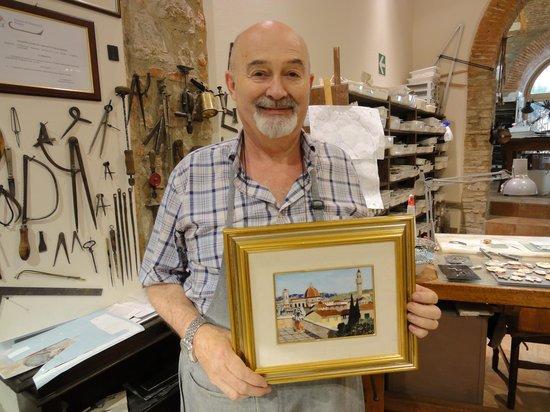 Scarpelli Mosaici: Master Renzo