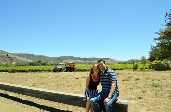 Stagecoach Wine Tours Santa Ynez: Kurt even sidelined as our personal photographer!