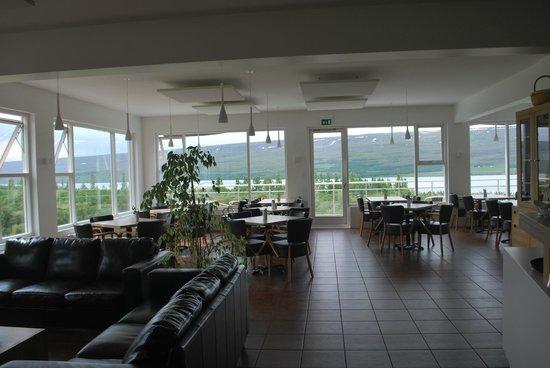 Hotel Hallormsstadur: upstairs bar
