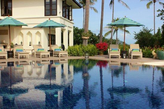 Baan Sawan Villa: Pool deck