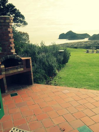 Bethells Beach Cottages: From the front door