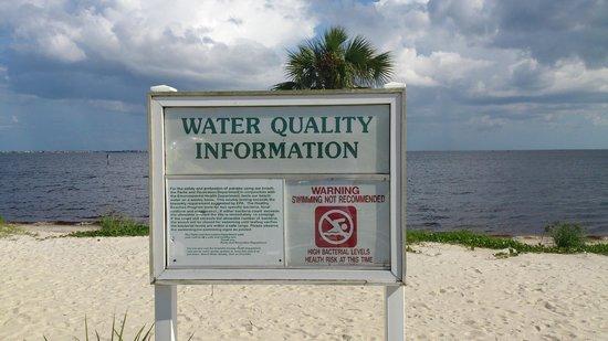 Port Charlotte Beach Park Bacteria Info