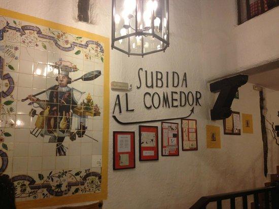 The interior of El Lacon