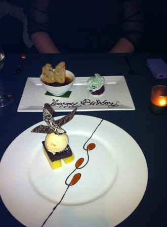 Echoes Boutique Hotel & Restaurant: Desert was awesome