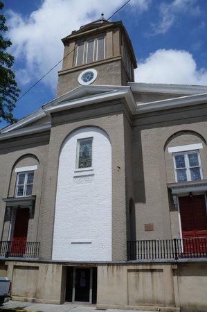 First African Baptist Church: Church exterior
