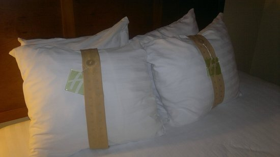 Holiday Inn Hotel & Conference Center: Tagged Pillows