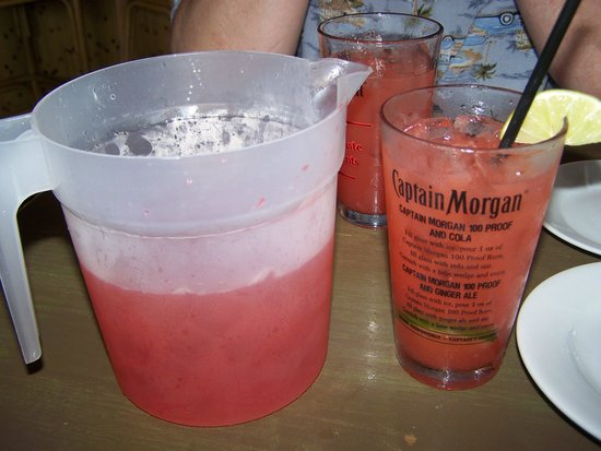 Folly Beach Shrimp Company: Refreshing rum drink value priced per pitcher!