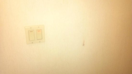 Days Inn Blue Springs: dirty light switch coverings & walls