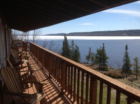 Gunflint Pines Resort & Campgrounds: View from our suite