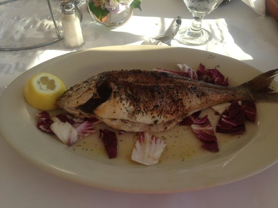 Andrra Restaurant and Lounge: Orata fish -can be fillet