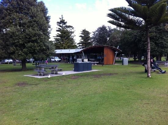 Parque infantil del Lago Pertobe: BBQ area