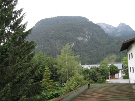 St. Hubertus: View from our room's balcony