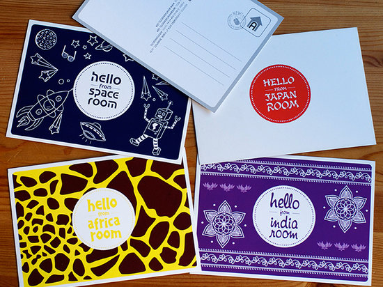 Aventura Boutique Hostel: Free postcards - Send postcards to your friends of the room where you stayed!