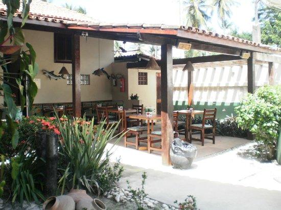 Taperapuan Praia Hotel : Lanchonete