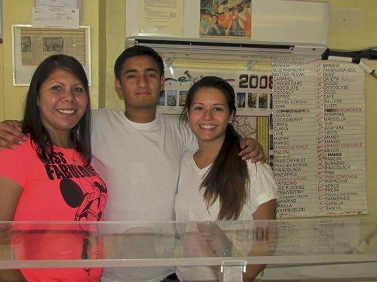 Michoacana Icecream : friendly staff