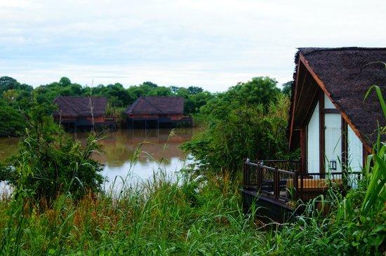 Jetwing Vil Uyana: Water dwellings