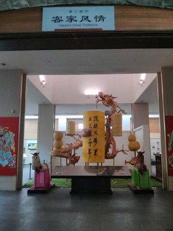 Hakka Museum of China: The Hakka Museum is divided into different sections.