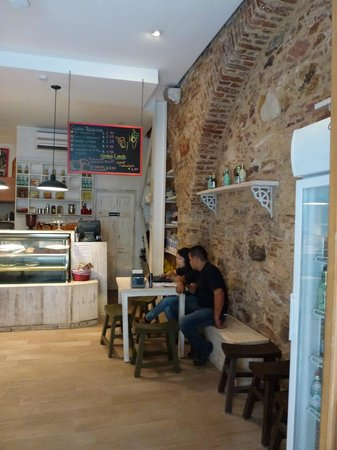 Inside view of casa del horno cafe