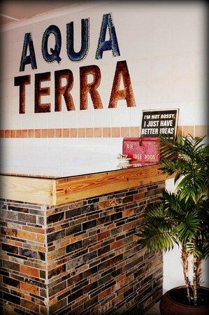 Aqua Terra Guest House: Entrance
