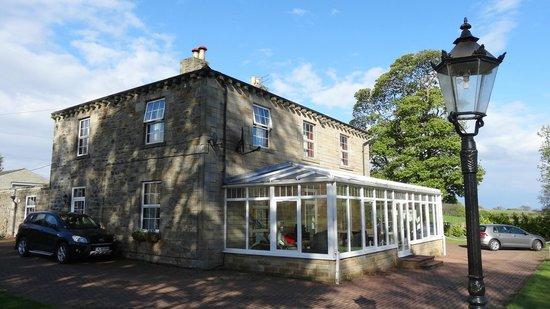 Headley Hall: Hedley Hall from gardens