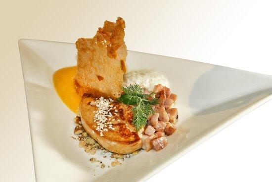 Restaurant Le 9 7 : foie aux aromates