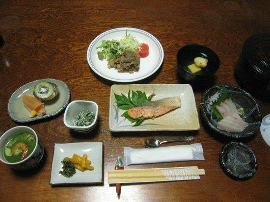 Hachijojima Park Hotel: 夕食!