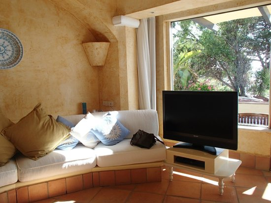 Forte Village Resort - Waterfront Suites : One of two TV's (not that you'd ever watch them?!)
