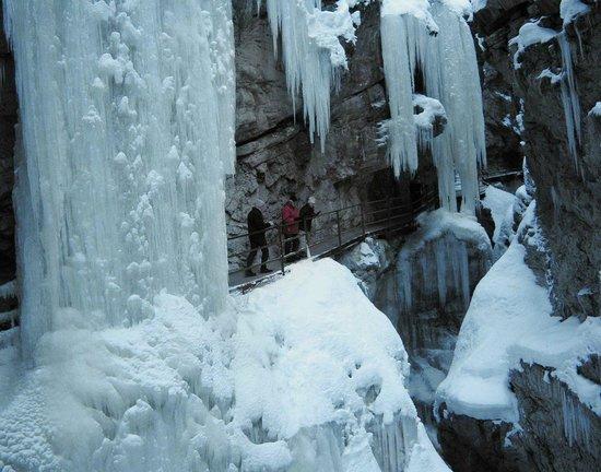 Tiefenbach, Tyskland: Breitachklamm Winter