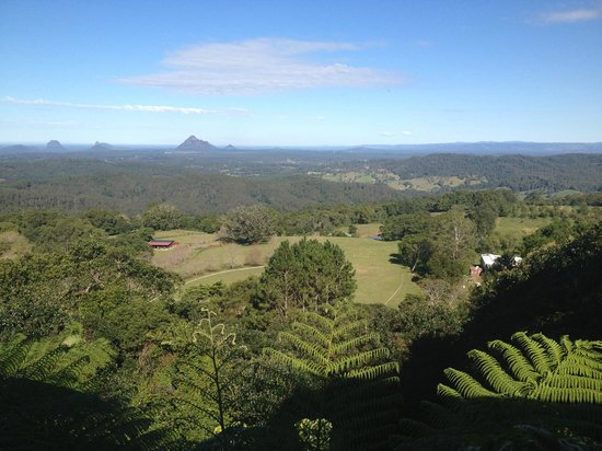 Braeside Bed & Breakfast : View from the balcony