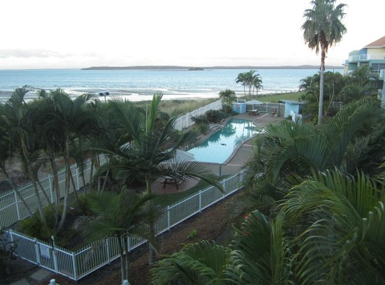 BreakFree Great Sandy Straits: Lap Pool and view to Fraser Island