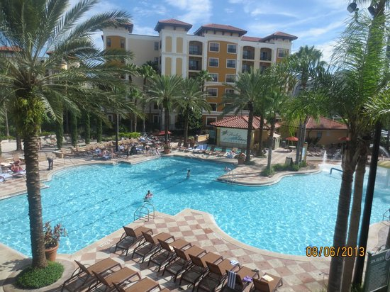 lovely view of pool picture of floridays resort orlando. Black Bedroom Furniture Sets. Home Design Ideas