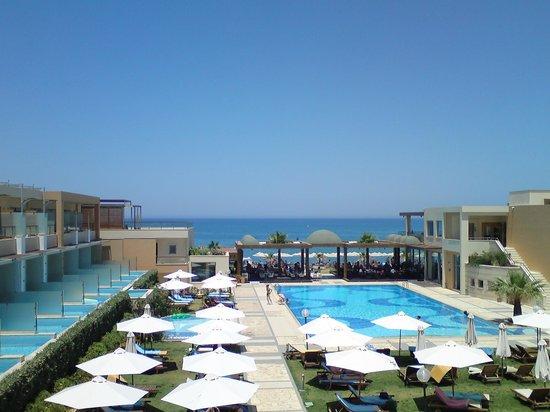 "Minoa Palace Resort: vue des chambres "" impérial vue mer """