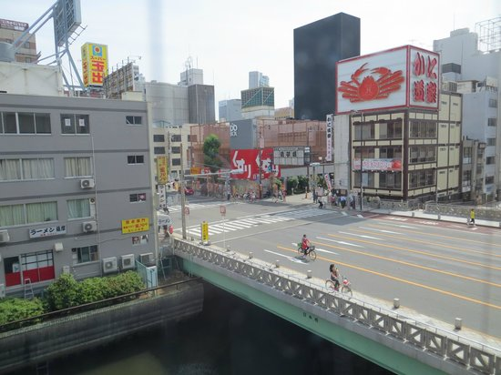 Yamatoya Honten: View to the right from our window. We didn't have any road noise.