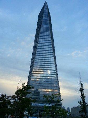 Orakai Songdo Park Hotel: Wow - tall buildings!