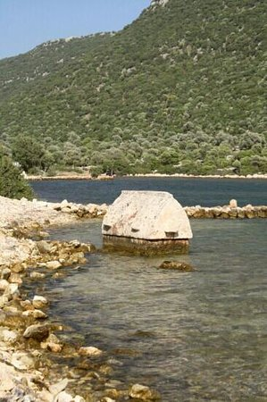 Kekova Sound: part the city that's not sunk!
