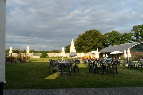 La Garangeoire: bar garden