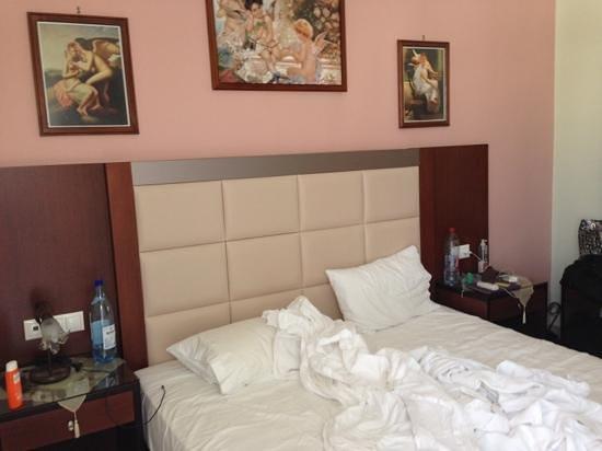 Hotel Parthenon: the room