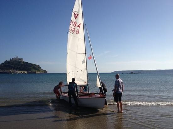 St Michael's Bed & Breakfast: a spot of sailing from the boat club 2 mins away