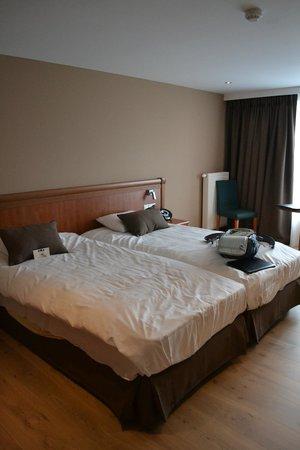 Hotel Melba: Bedroom Comfy beds...