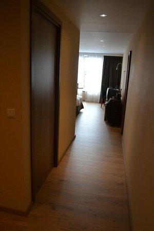 Hotel Melba: Hallway