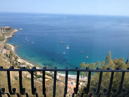 San Domenico Palace Hotel: view from my room