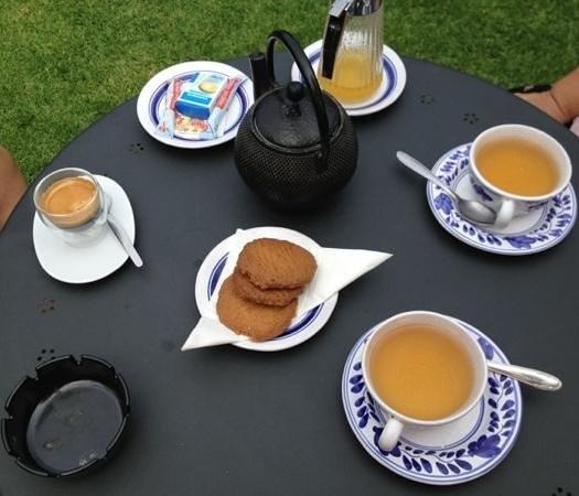 Casa Teahouse & Bar: Te' con i biscotti allo zenzero