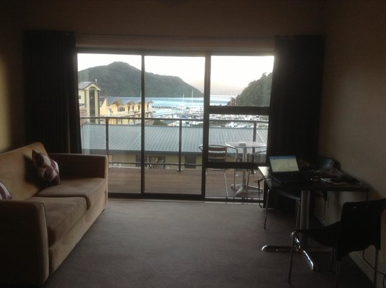 Harbour View Motel Picton: View from my room